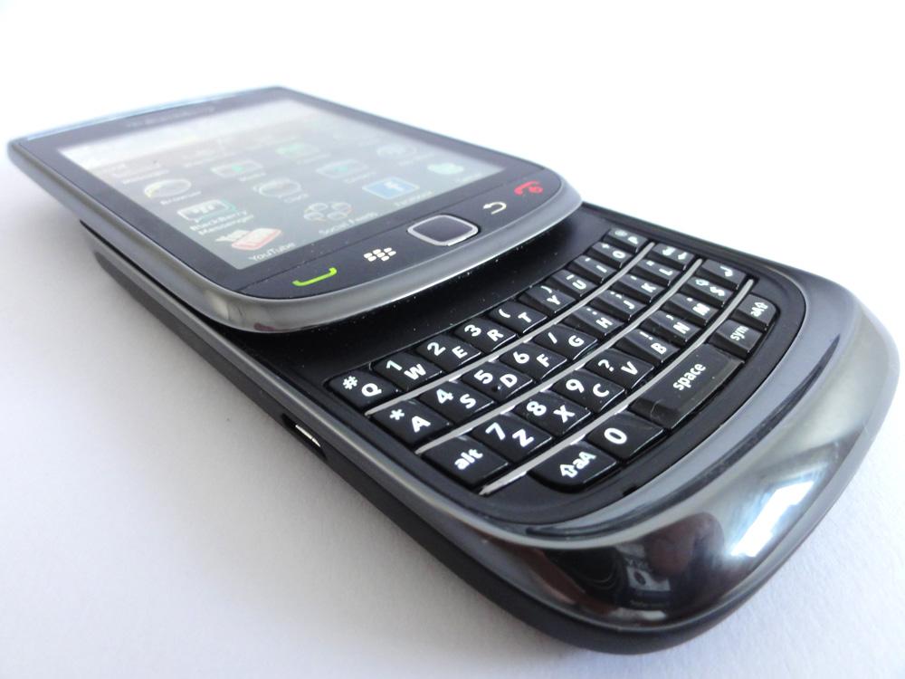 Test BlackBerry Torch 9800