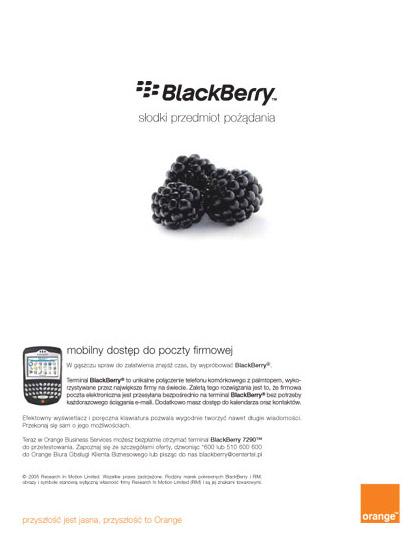 Blackberry Try Amp Buy W Orange Dla Firm