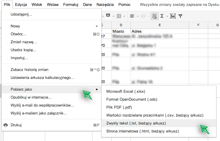 Jak Importować Produkty Z Plików Excel Do Fakturowniapl