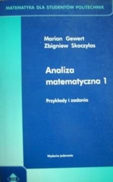 Analiza matematyczna 1 Przykłady i zadania /5235/