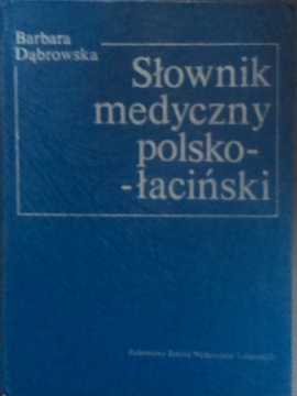 Słownik medyczny polsko-łaciński /5319/