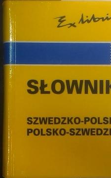 Ex libris Słownik szwedzko-polski polsko-szwedzki /5417/