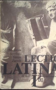 Lectio Latina dla klasy I liceum ogólnokształcącego /5438/