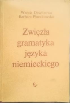 Zwięzła gramatyka języka niemieckiego /6470/
