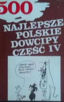 500 Najlepsze polskie dowcipy część IV /7176/