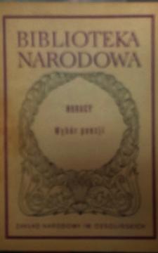 BN Wybór poezji /7210/