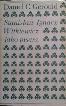 Stanisław Ignacy Witkiewicz jako pisarz /5652/