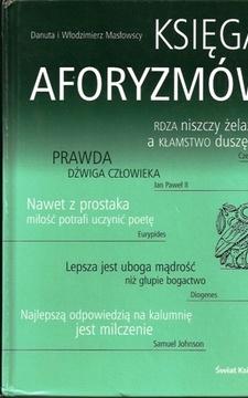 Księga aforyzmów /6672/