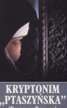 "Kryptonim ""Ptaszyńska"" (Donosy na Prymasa) /6696/"