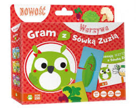 Puzzle Gram z Sówką Zuzią warzywa /7315/