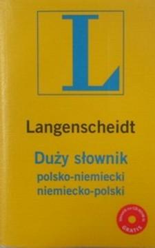 Duży słownik polsko-niemiecki niemiecko-polski /5926/