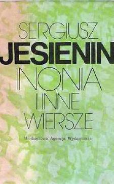 Inonia i inne wiersze /6875/