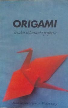 Origami sztuka składania papieru /8201/