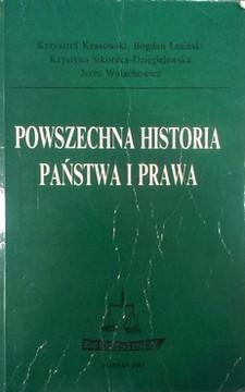 Powszechna historia państwa i prawa /8277/