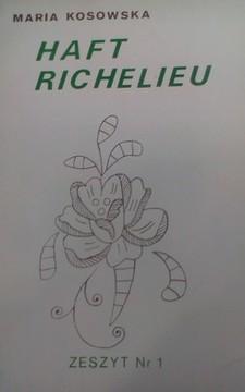 Haft richelieu zeszyt nr 1 /8454/
