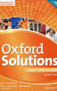 Oxford Solutions Upper-intermediate SB J. angielski /9177/