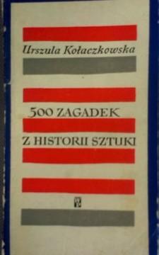 500 zagadek z historii sztuki /8675/