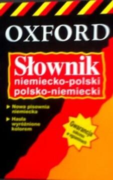 Słownik niemiecko-polski polsko-niemiecki /8689/