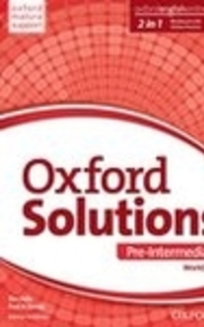 Oxford Solutions Pre-intermediate WB J. angielski /9331/