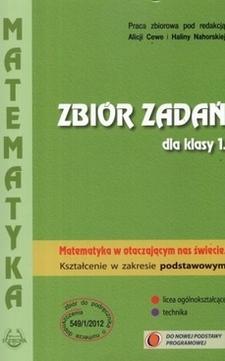 Matematyka w otaczającym nas świecie 1 ZP Zbiór zadań /9365/