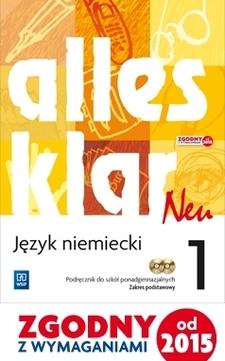 Alles klar neu 1 j. niemiecki podr. /9415/