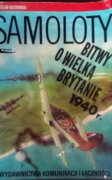 Samoloty Bitwy o Wielką Brytanię 1940 r. /8956/