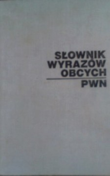 Słownik wyrazów obcych /10004/