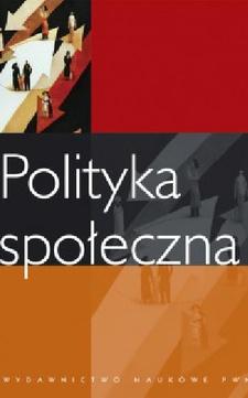 Polityka społeczna /9595/