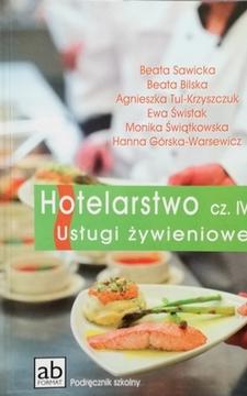 Hotelarstwo IV Usługi żywieniowe /20454/