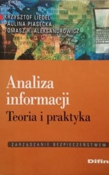 Analiza informacji Teoria i praktyka /20610/