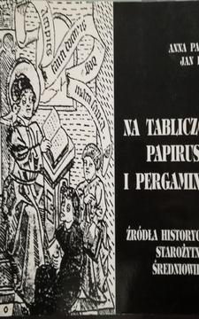 Na tabliczce papirusie i pergaminie /20807/