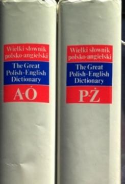 Wielki słownik polsko-angielski tom 1-2 /111166/