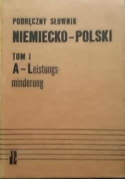 Podręczny słownik niemiecko-polski t.1-2 /20906/