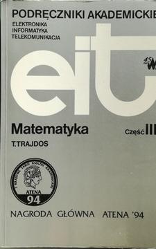 Matematyka Część III /111420/