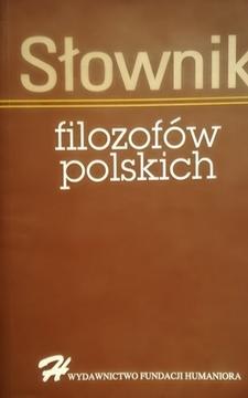 Słownik filozofów polskich /111429/