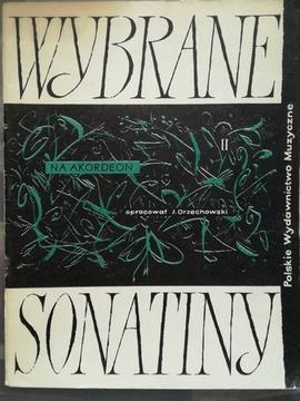 Wybrane sonatiny na akordeon II /30465/