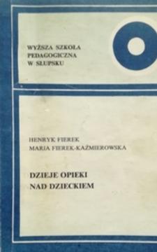 dzieje opieki nad dzieckiem /30480/