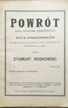 Powrót Suita Krakowiaków /30524/