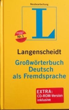 Langenscheidt Słownik języka niemieckiego jako języka obcego /111952/