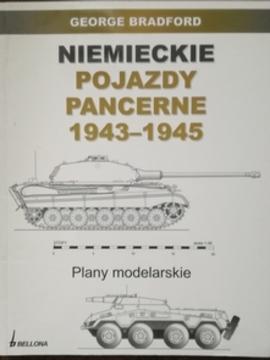 Niemieckie pojazdy pancerne 1943-1945 Plany modelarskie /30969/