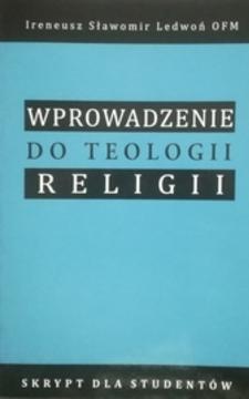 Wprowadzenie do teologii religii /112380/
