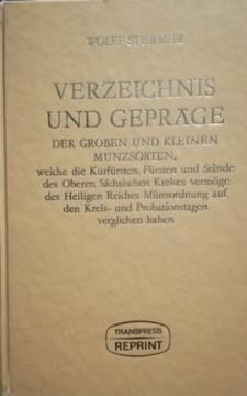 Verzeichnis und Geprage /32309/