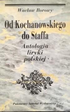 Od Kochanowskiego do Staffa /32381/