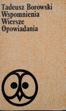 Wspomnienia Wiersze Opowiadania Pożegnanie z Marią i inne /32645/
