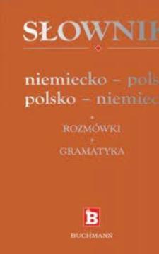 Słownik niemiecko-polski polsko-niemiecki +rozmówki + gramatyka /112794/