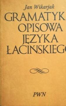 Gramatyka opisowa języka łacińskiego /32742/