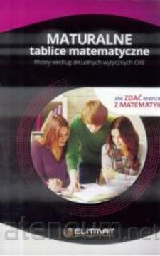 Maturalne tablice matematyczne /34045/