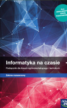 Informatyka na czasie 1 podręcznik dla LO i technikum ZR/34069/