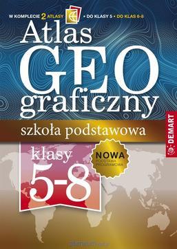 Atlas geograficzny do klas 5-8 /33226/