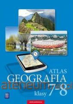 Atlas geograficzny do klas 7-8 /33227/